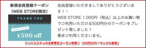 ドットエスティの会員限定クーポン情報!(500円OFF・サンプル画像)