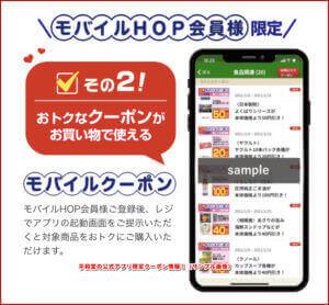 平和堂の公式アプリ限定クーポン情報!(サンプル画像)