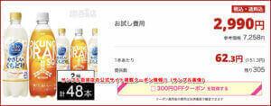 サンプル百貨店の公式サイト掲載クーポン情報!(サンプル画像)