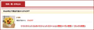 イイハナドットコムのベネフィットステーション掲載クーポン情報!(サンプル画像)
